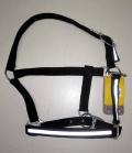 HKM Nylonhafter mit Reflexband Brasilia - schwarz