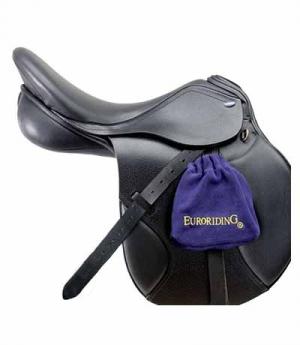 Euroriding Steigbügelhüllen Fleece ER Logo