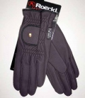 Roeckl Reithandschuhe Winter Roeck-Grip - pflaume