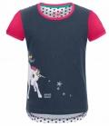 Waldhausen T-Shirt Kids Hanni m.Pferdemotiv - nachtblau