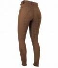 Covalliero Reithose Damen Detroit Full Grip Sale - brown