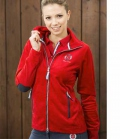Covalliero Jacke Fleece Jennifer super soft SP. - rot