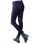 Covalliero Reithose Damen Basic Plus Full Grip - blau
