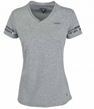Pikeur Shirt Holly mit V-Neck & Pailletten FS17