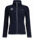 HV Polo Jacke Fleece Lorraine Kontrast FS17 SP. - navy