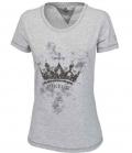 Pikeur Shirt kurzarm Quilla Premium Kollek.FS17 - hellgrau