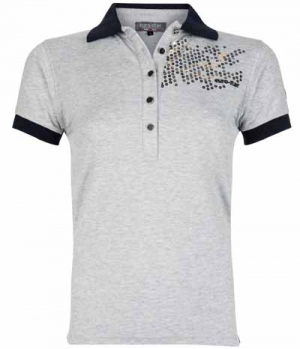 Euro-Star Polo Shirt Bella mit Pailletten FS17 SP.