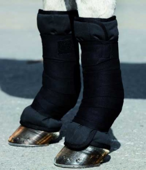 Horseware Ionic Bandagenunterlagen Turmalindruck