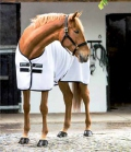 Horseware Sommerdecke Rambo Techni-Waffel - weiß-schwarz