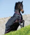 Horseware Turnoutdecke Amigo Hero lite 600D ** - black-purp
