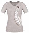 Cavallo T-Shirt Damen Irina leichtes Jersey Sale - grau-melange