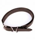 HKM Halsband für Strassbuchstaben - braun