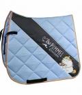 Equest Schabracke Stripe Pummeleinhorn 2.0 - hellblau