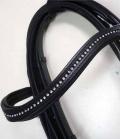 Kandare Comfort mit Strasstirnband - AR9 schw