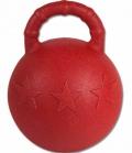 Waldhausen Fun Ball Pferde Spielball kein Aufpumpen - rot