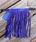 Fliegenfransen Stirnband  PP - royalblau