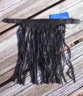 Fliegenfransen Stirnband  PP - schwarz