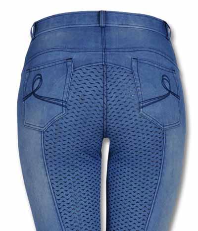 billiger Verkauf super beliebt zum halben Preis ELT Reithose Damen Hope Jeans Full Grip***