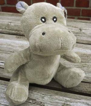 Textil Plüsch Nilpferd Hippo