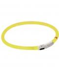 Leuchthalsband Maxi Safe LED 3 Stufen - gelb