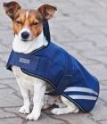 Hundedecke Move mit Kragen wasserdicht - navy