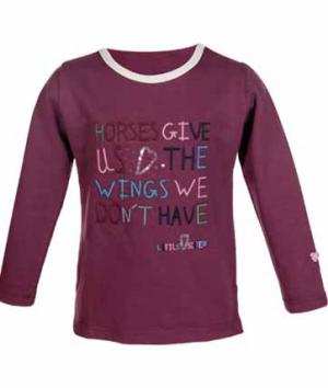 HKM Shirt Kids  Bonnie Wings Langarm