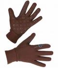 Covalliero Reithandschuh Inari Winter elastisch** - brown
