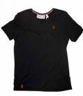 Naketano T-Shirt Men I love V-Ausschnitt - schwarz