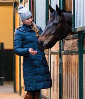 Euro-Star Mantel Damen Fabiella abnehmbare Kapuze