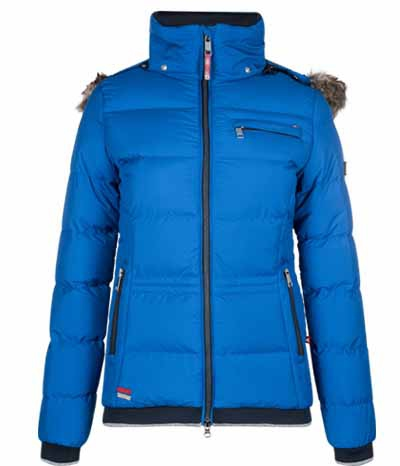 Euro Star Jacke Damen Faliza Materialmix Strick SP