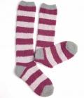 Horseware Socken Softie kuschelig - berry stri