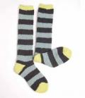 Horseware Socken Softie kuschelig - pewterstri