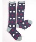 Horseware Socken Softie kuschelig - Iris spot