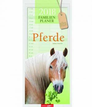 Familienplaner Pferde 2018
