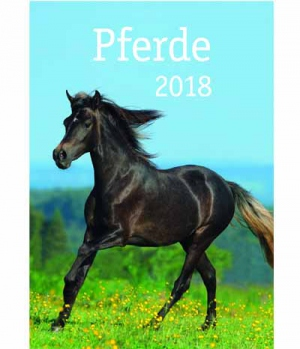 Hippobook Kalender 2018  Postkarten Starke Freunde