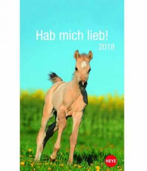 Hippobook Kalender 2018  Mini Pferdefreunde