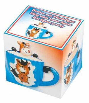 Happy Ross Tassen Geschenkbox Witzpony
