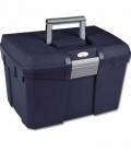 Putzbox mit Pinselhalterung bis 100kg - navy-grau