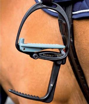 Horseware Steigbügel Easy Up mit Aufsteighilfe
