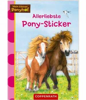 Sticker 50 große Pony Sticker