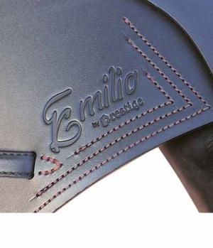 Euroriding Sattel Emilio Spring Flachsitz Ki.+2