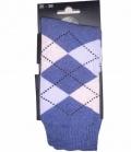 Esperado Socken kariert  modisch - 31blau