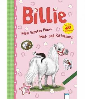Mal- und Rätselbuch Ponys