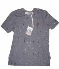 Naketano T-Shirt Herren Ali Kurt Kal Spots - dakgrey
