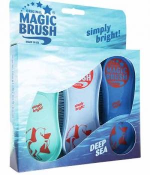 Kerbl Bürste Magic Brush 3-er Set
