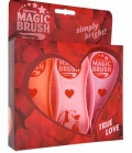 Kerbl Bürste Magic Brush 3-er Set - True Love