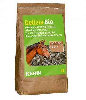 Kerbl Lekkerwürfel Delizia Bio Bronchial