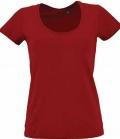 T-Shirt Damen Metropolitan - rot