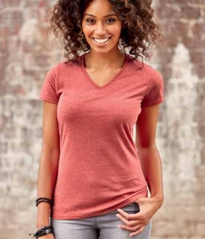 T-Shirt Ladies V-Ausschnitt  FS´18