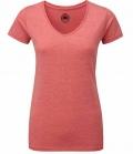 T-Shirt Ladies V-Ausschnitt  FS´18 - rot